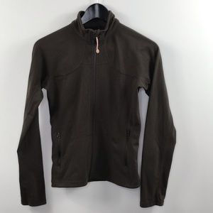 Lululemon mocha zippered jacket